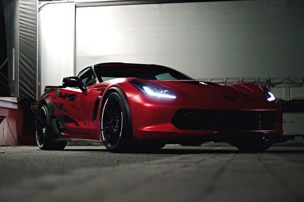 Corvette на BBM Motorsport: Червеният спортист със 700 к.с.