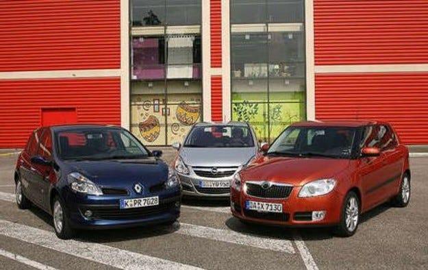 Corsa vs. Clio vs. Fabia