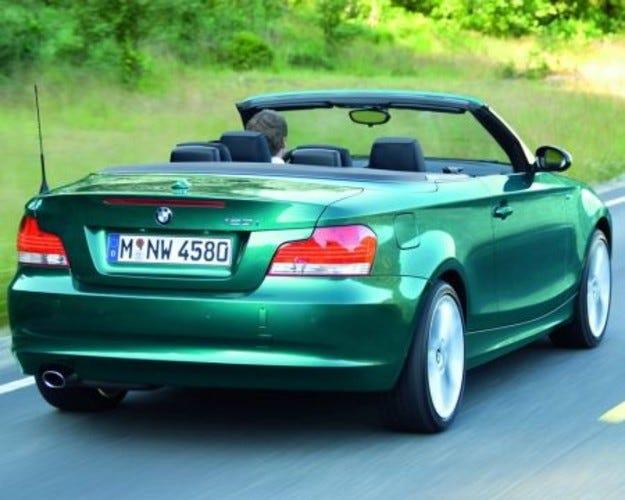 BMW Първа серия кабрио