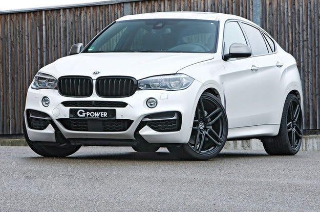 G-Power тунингова BMW X6: Дизел с 455-к.с.