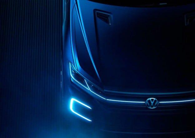 VW привезет вПекин концептуальный кроссовер