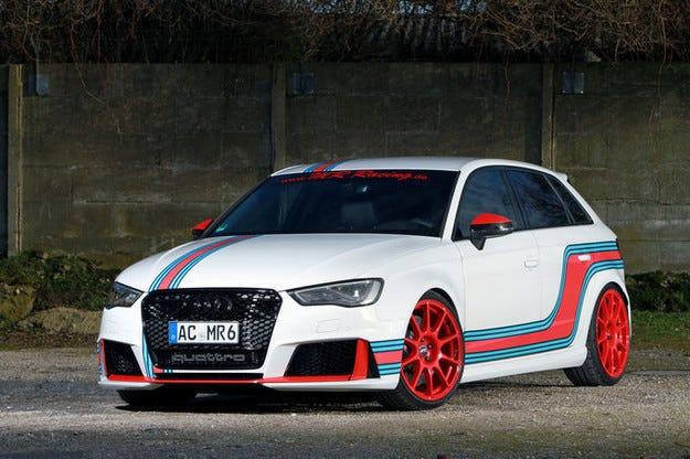 Audi RS3 на MR Racing: Ъпгрейд до 448 к.с.