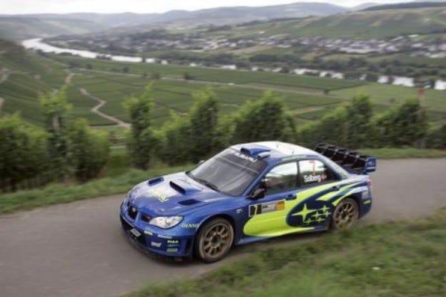 Subaru WRT - преди старта