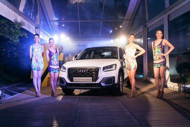 #untaggablexhibition: нетрадиционна предпремиера на Audi Q2 у нас