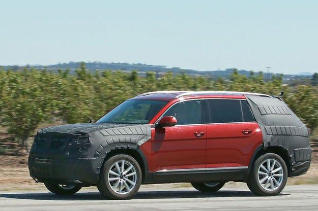 Прототипът VW Crossblue: Седемместен SUV за янките