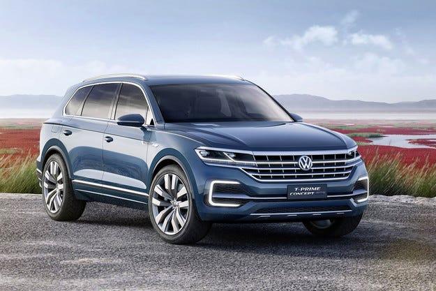 Volkswagen показа предвестник на голям кросоувър