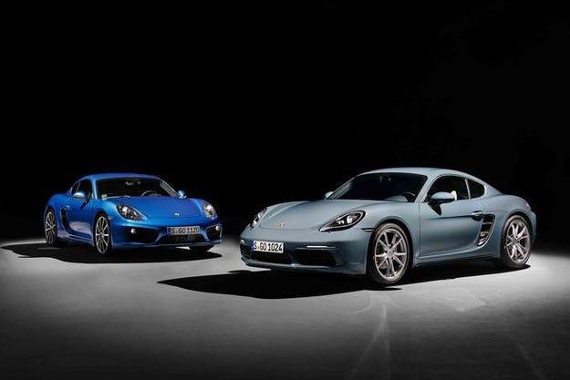 Porsche 718 Cayman (2016): Фейслифт, 4 цилиндъра и ново име