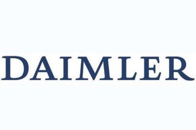 Новата емблема на Daimler AG