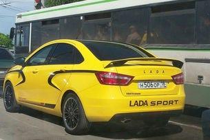 Публикуваха снимки на спортна версия на Lada Vesta