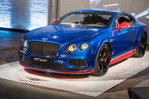 Bentley обнови моделната гама на Continental GT Speed