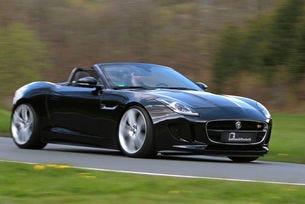 Jaguar F-Type от B&B: Още конски сили и криле за котката