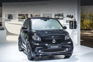 Нови електромобили на Smart дебютират в Париж