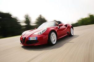 Alfa Romeo 4C Spider Speciale е лимитиран до 30 броя
