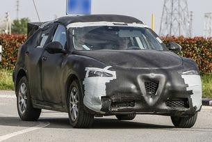 Снимат клип за първия кросоувър на Alfa Romeo Stelvio