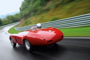 Трак тест Ferrari 750 Monza