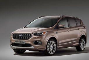 Ford представя финална версия на луксозния Kuga, който обаче не се различава от прототипа