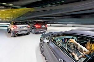 BMW X1, Mercedes GLA, Range Rover Evoque
