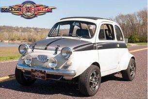 Старият малък градски Fiat 500 става чудовище с 300 к.с.