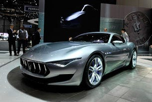 Серийната версия Maserati Alfieri става електрически автомобил