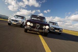 Alfa Romeo Giulia: Идеалната линия