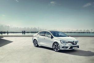 Новият седан Renault Megane