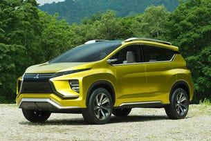 Mitsubishi представи концептуален седемместен кросоувър
