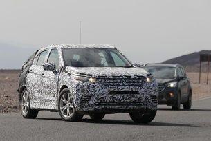 Новото поколение на Mitsubishi ASX тръгна на тестове
