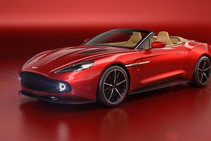 Zagato и Aston Martin представиха нов роудстър
