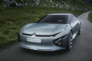 Citroen показа прототип на голям хибриден седан