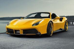 Novitec Rosso доработи купето и родстъра Ferrari 488