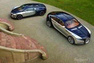 Седанът Bugatti Galibier може да стане сериен