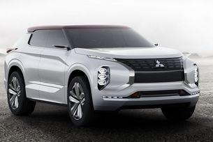 Концептуалният Mitsubishi GT- PHEV е готов за Париж
