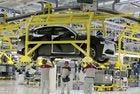 Заснеха случайно кросоувъра Alfa Romeo Stelvio в завода