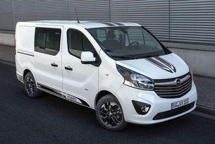 Opel Vivaro Sport: Вътре практичен, отвън спортен