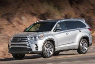 Разкриха подробности за обновената Toyota Highlander