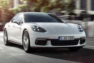 Новото Porsche Panamera получи хибридно задвижване