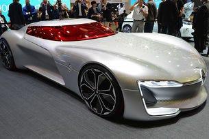 Trezor има за цел да демонстрира дизайна на бъдещите нови модели на Renault