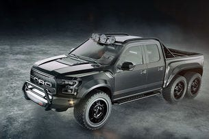 Hennessey направи шестколесен Ford F-150 Raptor
