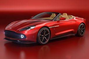 Ясно е колко струва Aston Martin Vanquish Volante Zagato