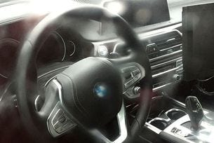 Първи изображения на новия салон на BMW Серия 5