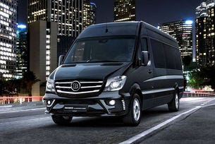Ето го Brabus Mercedes Sprinter Conference Lounge