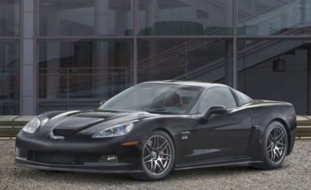 Corvette Z06 E85