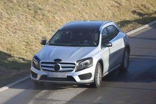 Mercedes GLA (2017): Променят кросоувъра A-класа