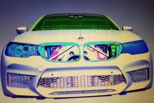 Публикуваха първи изображения на новото BMW M5