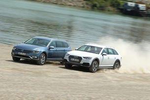 VW Passat Alltrack срещу Audi A4 Allroad