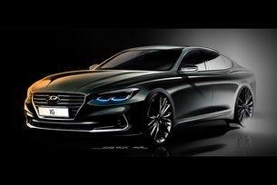 Разсекретиха дизайна на новото поколение Hyundai Grandeur