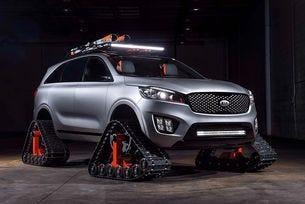 Kia разработи безпилотен високопроходим автомобил