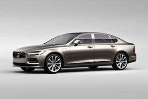 Volvo Cars разкрива върховия седан S90 Excellence