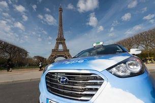 60 автомобила Hyundai ix35 Fuel Cell тръгват из Париж