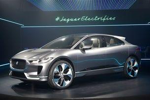 Jaguar представи своя първи електрически кросоувър